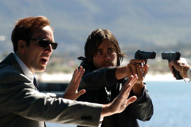 """W kilku kadrach przypominamy wybrane role Jareda Leto. Na zdjęciu z Nicolasem Cage'm w filmie """"Pan życia i śmierci"""""""