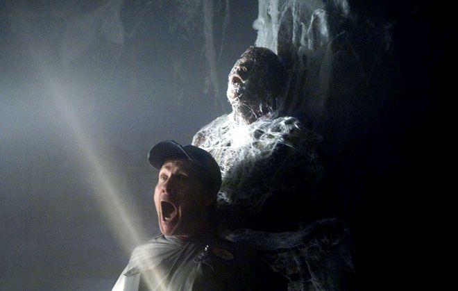 Kadr z filmu ''Mgła''