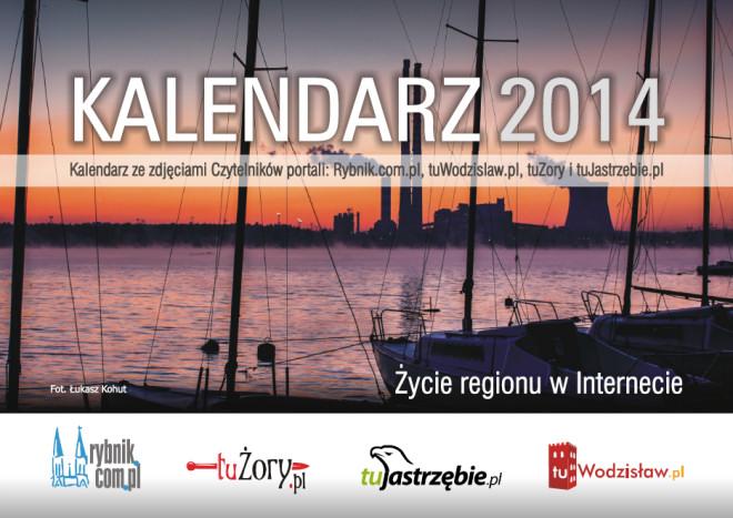 Na okładce kalendarza znalazło się zdjęcie rybniczanina Łukasza Kohuta