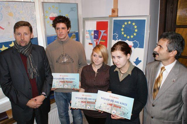 Zwycięzcy konkursu ''5 lat członkostwa Polski w Unii Europejskiej''