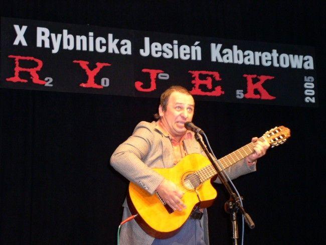 Grzegorz Halama podczas Ryjka w 2005 roku