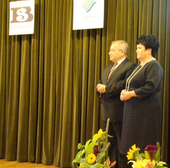 Złotymi Odznakami Honorowymi została wyróżniona Biblioteka Śląska w Katowicach i PiMBP w Rybniku