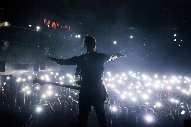 Koncerty światłem malowane
