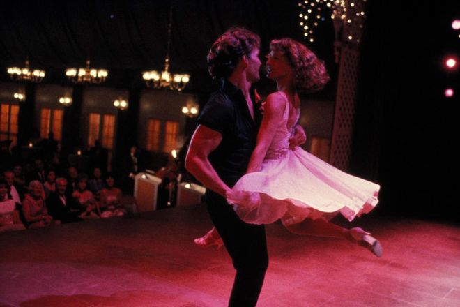 "Kadr z filmu ""Dirty Dancing"""