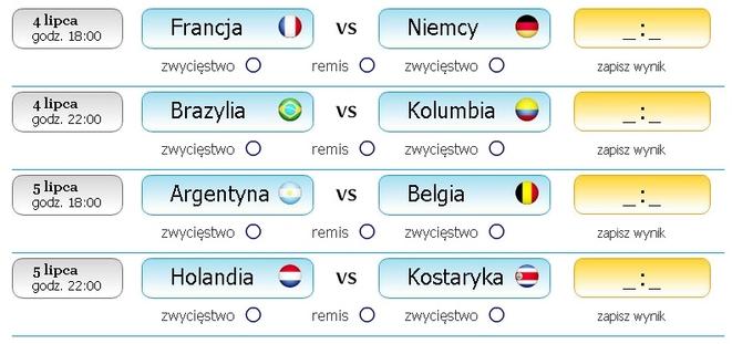 Dziś i jutro czekają nas 4 arcyciekawe mecze ćwierćfinałowe