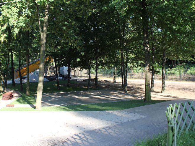Na kąpielisku w Chwałowicach trwają prace modernizacyjne