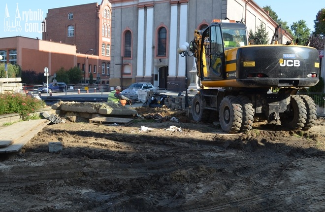 Prace w rejonie ''starego kościoła'' są wstrzymane