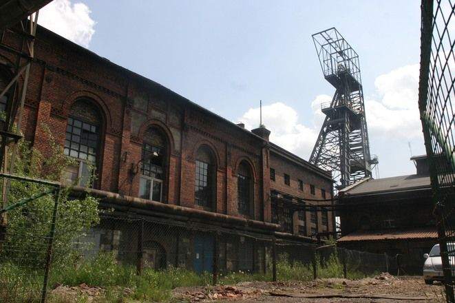 Zabudowania kopalni Dębieńsko