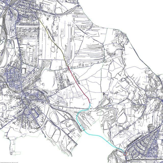 Plan budowy nowej drogi