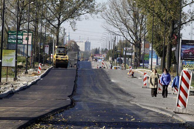 Przebudowa ulicy Żorskiej