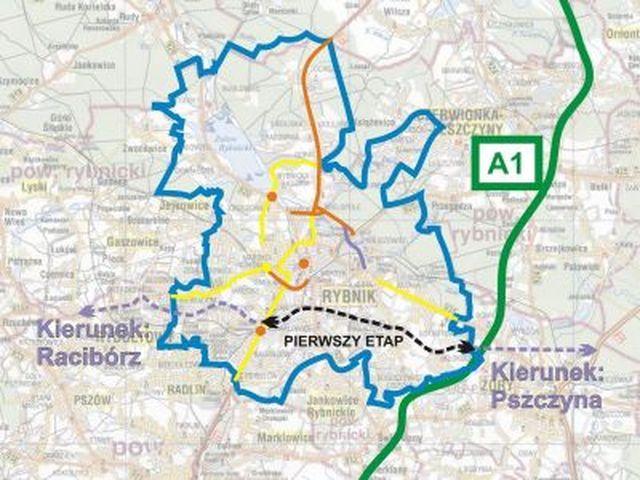 Prezydent Rybnika szuka sposobów na wybudowanie pierwszego odcinka drogi łączącej Pszczynę z Raciborzem