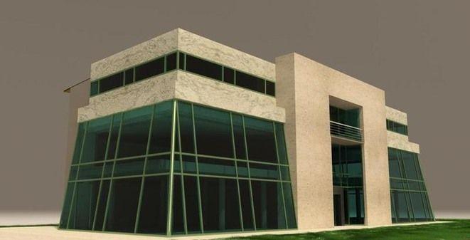Wizualizacja budowanego obiektu