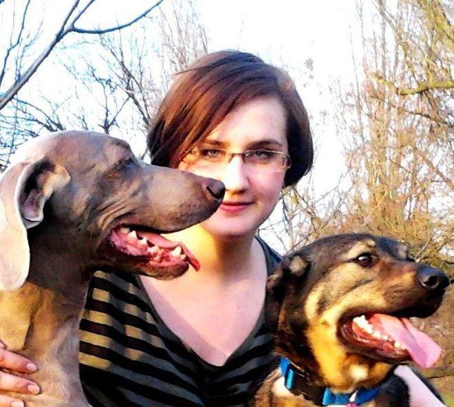 Aleksandra Kazek z Rybnika walczy o stypendium na profesjonalny kurs tresery psów