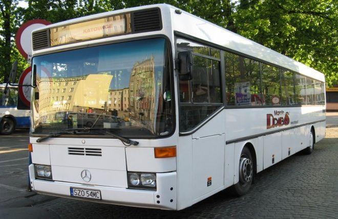 Jeden z autobusów należących do firmy Drabas