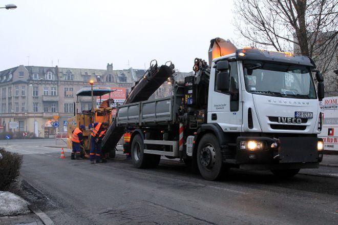 Prace remontowe rozpoczęły się od ul. Raciborskiej