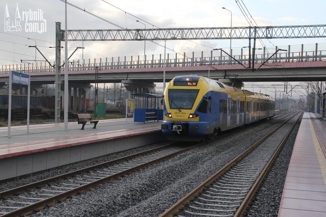 Wyremontowana stacja Rybnik-Towarowy