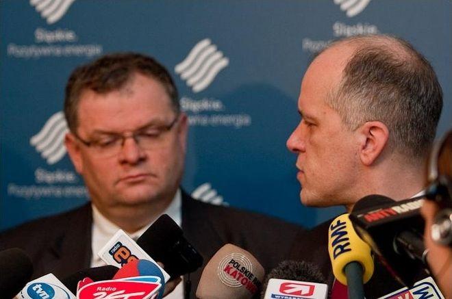 Marek Worach i Adam Matusiewicz