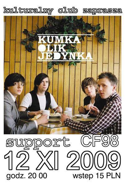 Plakat koncertu.