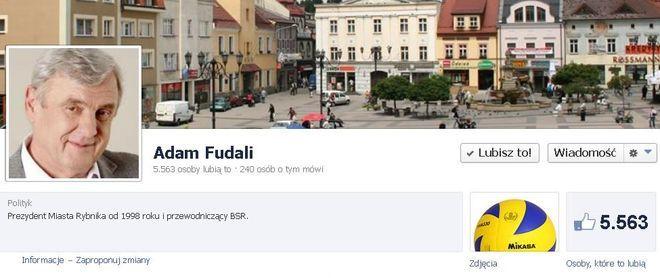 Adam Fudali zdobył ponad 5,5 tys. kliknięć ''Lubię to!''