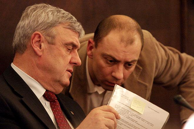 Adam Fudali i Krzysztof Jaroch. Zdjęcie z 2007 roku
