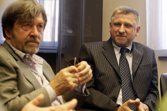 Norbert Gamoń spełnił swoje marzenie - jego przyjaciel Olek Krupa wystąpił na deskach Rybnickiego Centrum Kultury.