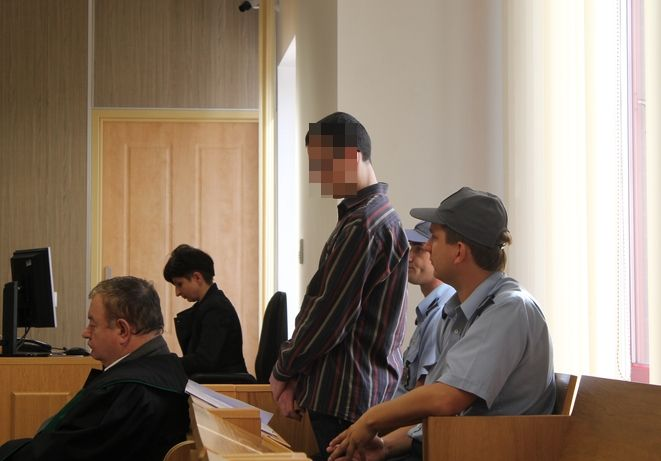 Mateusz N. przed sądem