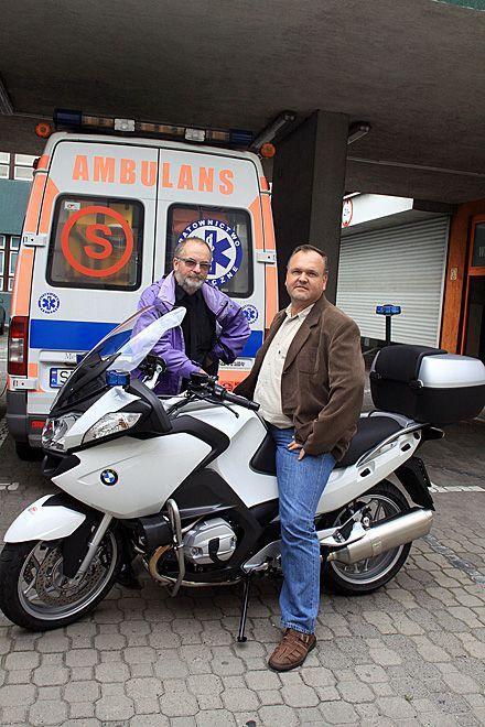 Motocykl będzie dowozić krew oraz organy do przeszczepów