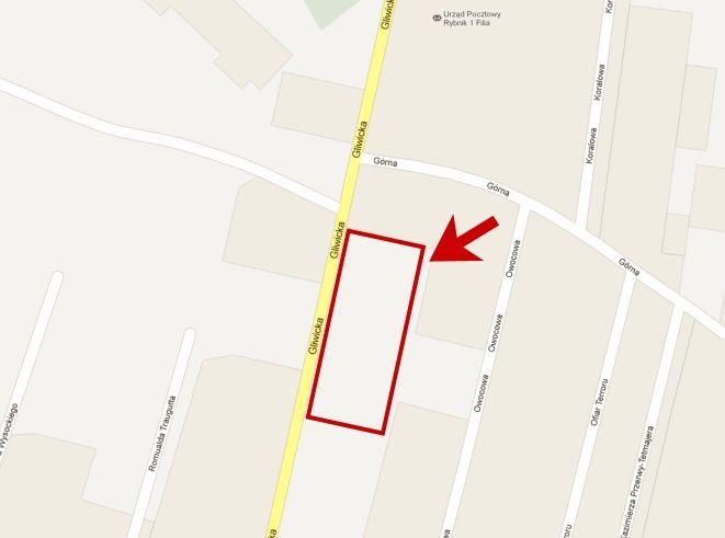 Lokalizacja nowego salonu sprzedaży przy Gliwickiej