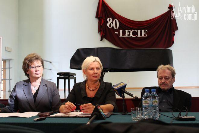 Na zdjęciu od lewej: Romana Kuczera, Ewa Ryszka i Adam Makowicz