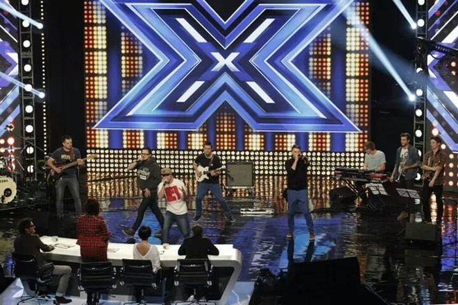 PomaU w czasie występu w programie X-Factor