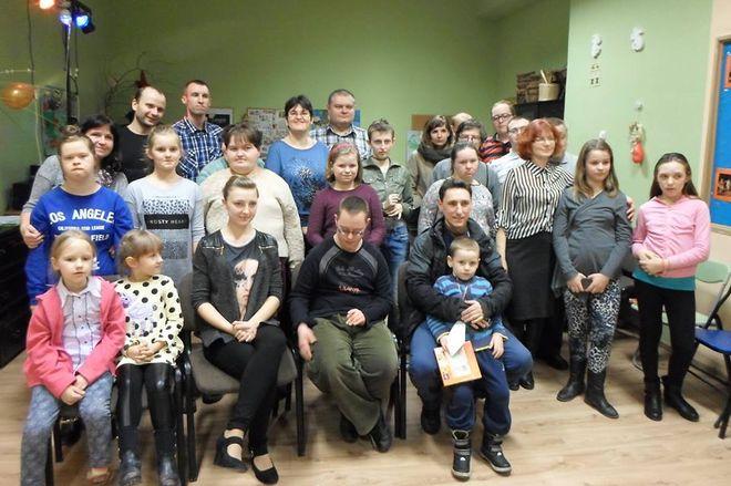 Orkiestra Dobroczynna w siedzibie Stowarzyszenia Rodzin i Osób Niepełnosprawnych w Rydułtowach