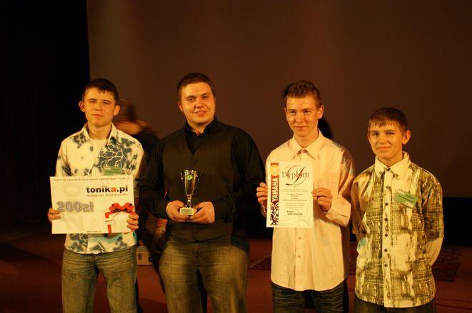 Zespół wokalno-instrumentalny ze Szkoły Muzycznej Yamaha w Rybniku