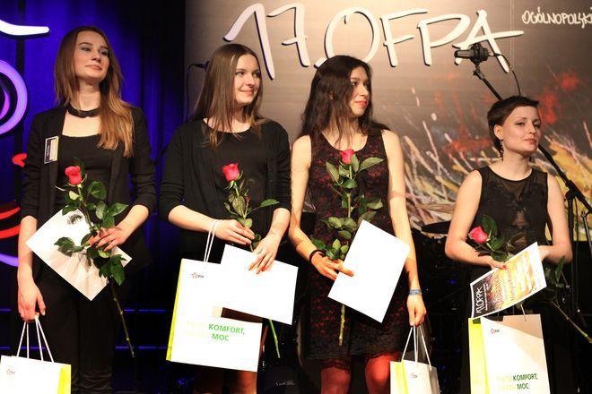 Oto laureatki Konkursu Otwartego OFPA 2013