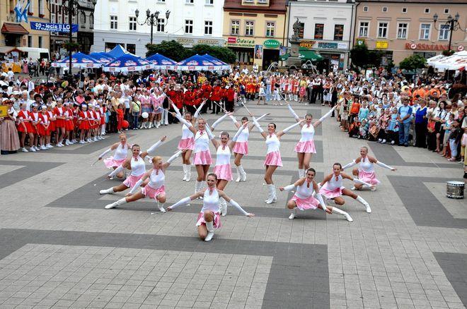 Formacja Taneczna Enigma, która w 2008 roku zdobyła Puchar Ministra Kultury i Dziedzictwa Narodowego dla mażoretek