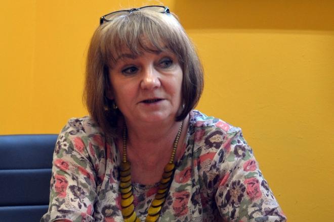 Na zdjęciu: Elżbieta Piotrowska