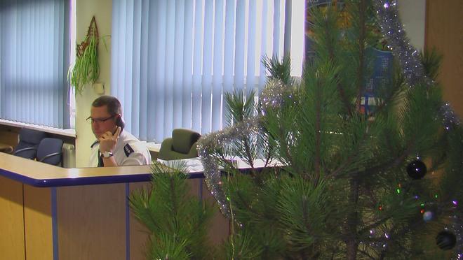 Świąteczna atmosfera zapanowała w Komendzie Miejskiej Policji w Rybniku