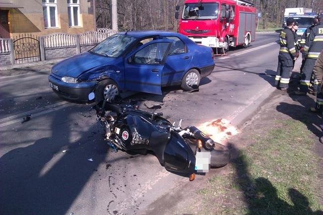 Zdjęcia z wypadku nadesłał nam nasz czytelnik Paweł