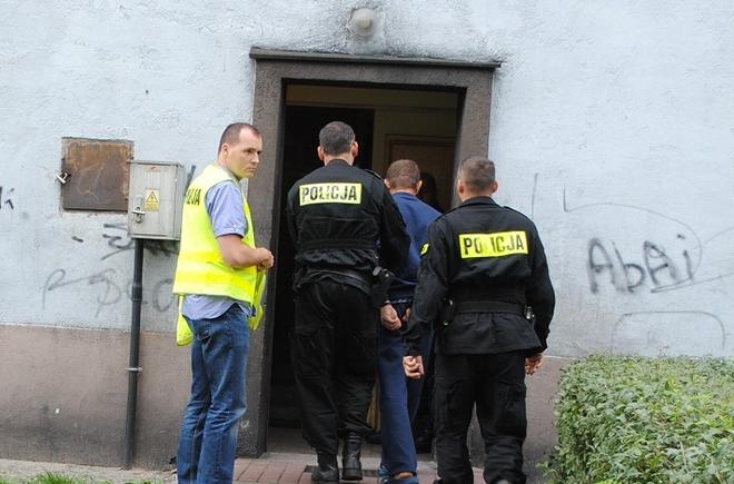 Do brutalnego mordu doszło w jednym z bloków przy ul. Śniadeckiego, w dzielnicy Boguszowice-Osiedle