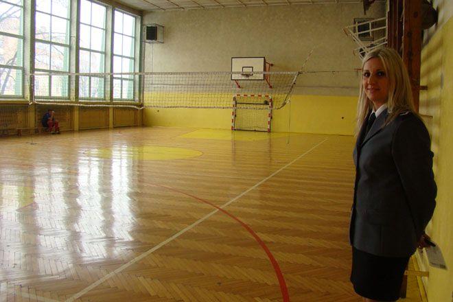 Za pieniądze z Funduszu Wsparcia Policji wyremontowana zostanie w tym roku sala gimnastyczna komendy miejskiej.