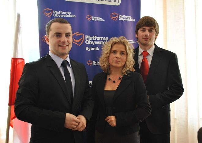 Na zdjęciu od lewej: Wojciech Kiljańczyk, Aneta Bokuniewicz i Dariusz Laska