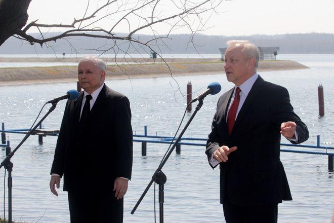 Jarosław Kaczyński gościł już rok temu w Rybniku podczas poprzednich wyborów uzupełniających. Popierał wtedy Bolesława Piechę.