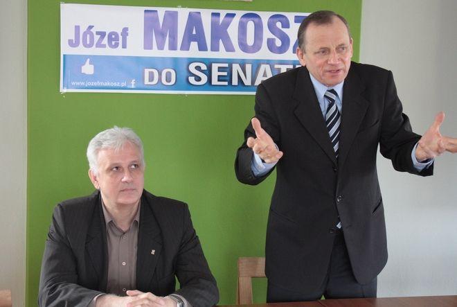 Dominik Kolorz poparł Józefa Makosza