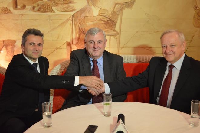 Tadeusz Gruszka, Adam Fudali i Bolesław Piecha