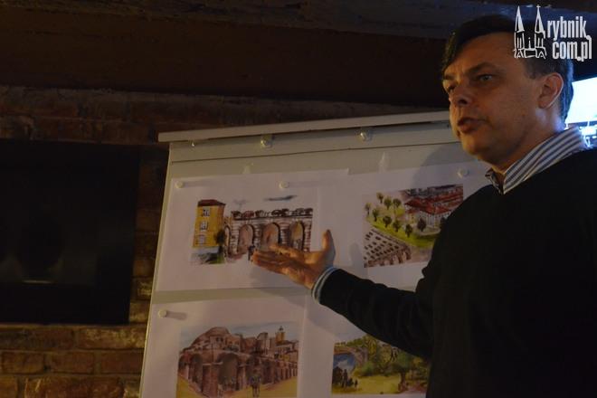 Jednym z pomysłów Aleksandra Larysza jest hala targowa