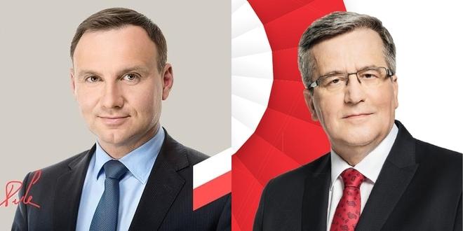 W II turze wyborów prezydenckich zmierzyli się Andrzej Duda i Bronisław Komorowski