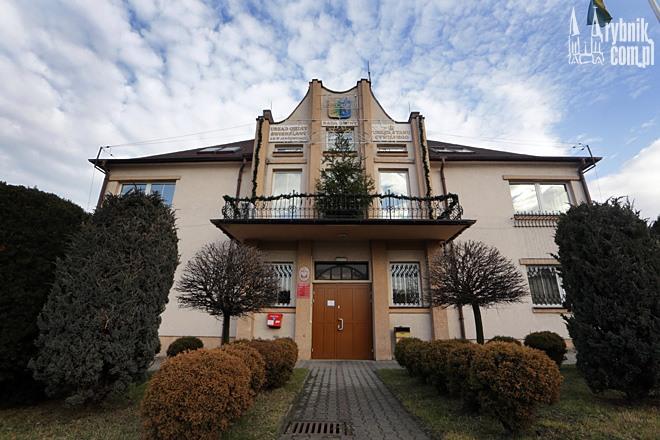 Obecny Urząd Gminy Świerklany, który znajduje się w Jankowicach