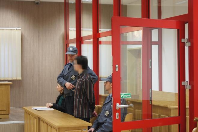 Mateusz N. podczas ogłaszania wyroku