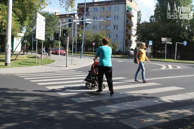 Mimo wniosków PZN w Rybniku sygnalizacja świetlna na Chrobrego do tej pory nie została udźwiękowiona.