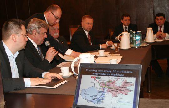 Parlamentarzyści i samorządowcy w sprawie autostrady wypracowali stanowisko ponad podziałami politycznymi