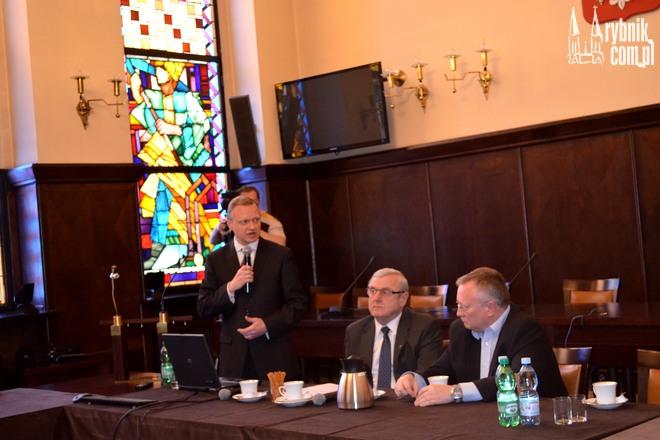 W magistracie odbyło się spotkanie samorządowców i przedstawicieli Fundacji Kreatywny Śląsk